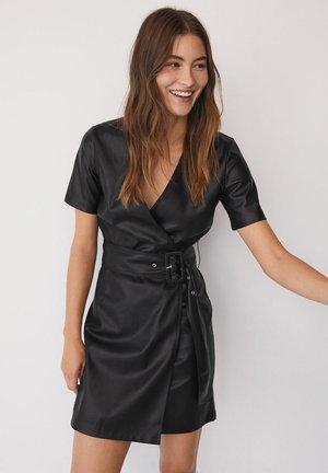 Korte jurk - černá