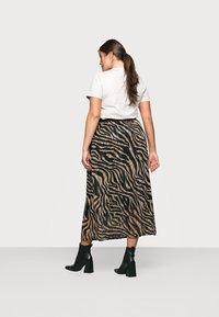 Kaffe Curve - KCVENKE SKIRT - A-line skirt - black - 2