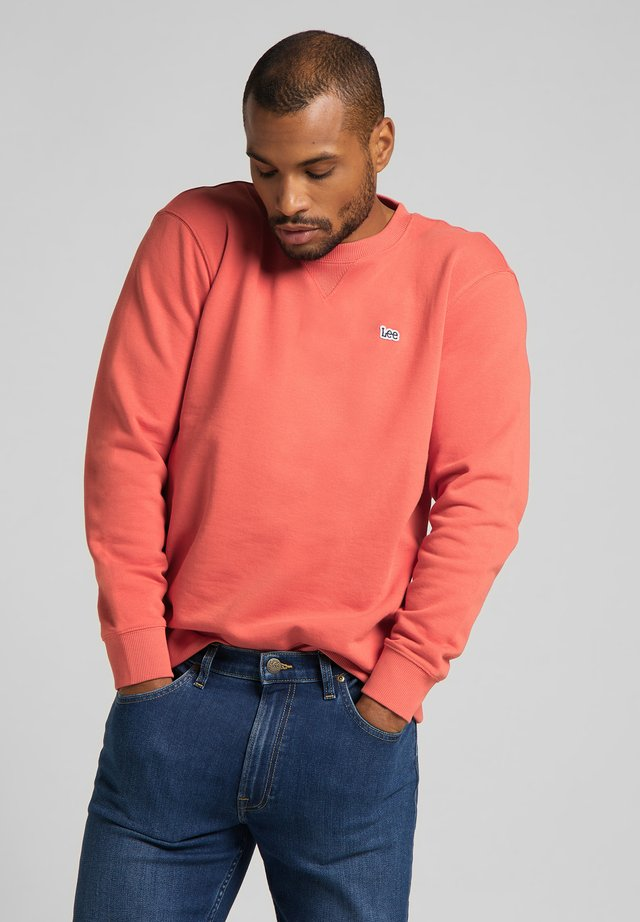 PLAIN CREW - Felpa - washed red