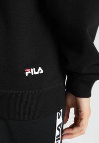 Fila - PURE HOODY - Bluza z kapturem - black - 5