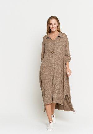 Maxi dress - dunkelbeige