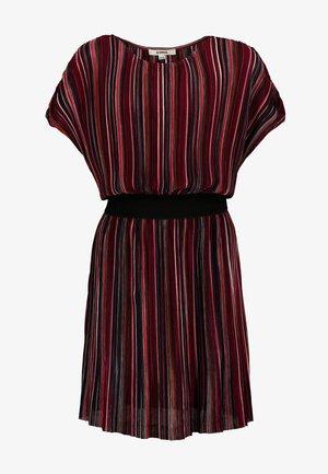 Korte jurk - midnight red