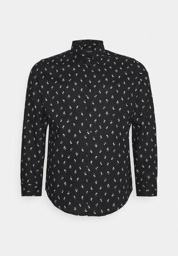 PANAMA PALM PRINT SHIRT - Shirt - black
