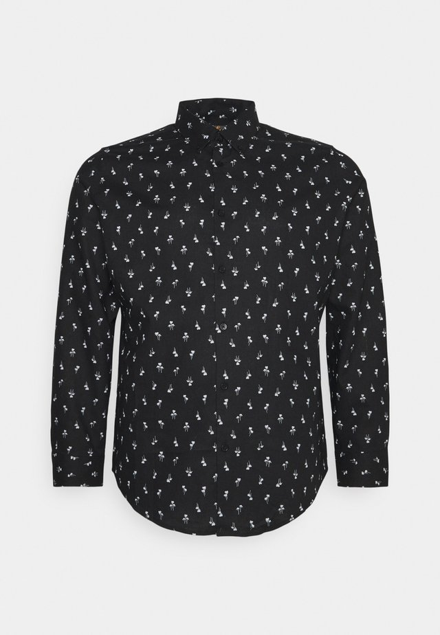 PANAMA PALM PRINT SHIRT - Camicia - black