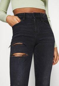 American Eagle - Slim fit jeans - black - 3