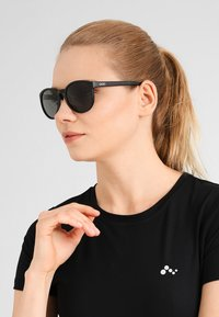 POC - KNOW UNISEX - Sunglasses - uranium black/hydrogen white - 1