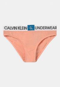 Calvin Klein Underwear - 2 PACK - Briefs - apricot pink/white - 2