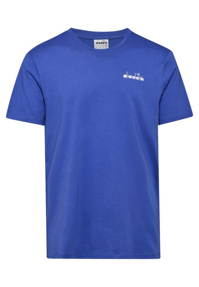 CORE - T-shirt basic - 60050 - blu imperiale