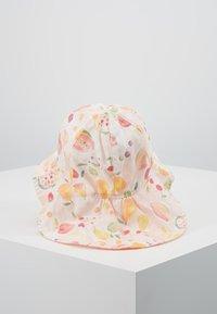 Maximo - MINI GIRL FLAPPER - Hat - zart rosa melange/gelb - 3