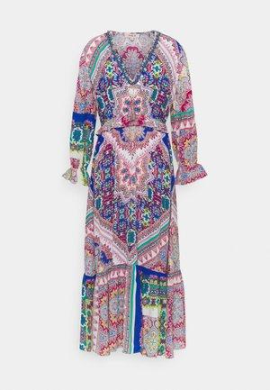 SOLAIRE DRESS - Maxi šaty - blue