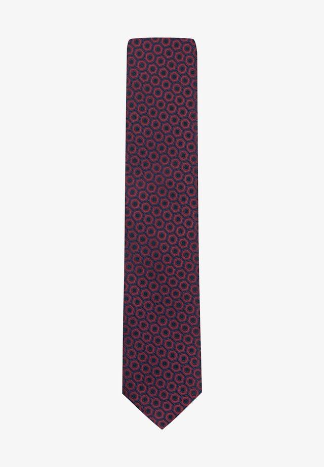 Tie - open pink