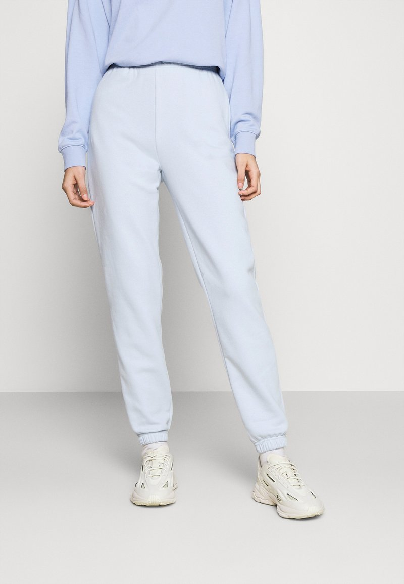 Gina Tricot - BASIC - Tracksuit bottoms - skyway