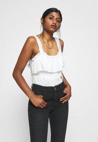 River Island Petite - Jeans Skinny Fit - black - 3