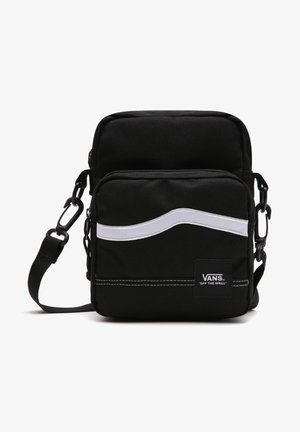 UA CONSTRUCT SHOULDER BAG - Across body bag - black/white