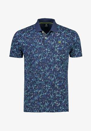 Polo shirt - vintage blue