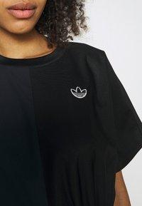 adidas Originals - TEE DRESS - Vestido informal - black - 6