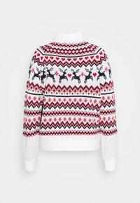 Fashion Union - CHRISTMAS REINDEER FAIR ISLE - Jumper - cream - 1