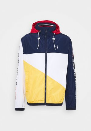PACE FULL ZIP JACKET - Leichte Jacke - newport navy/yellow