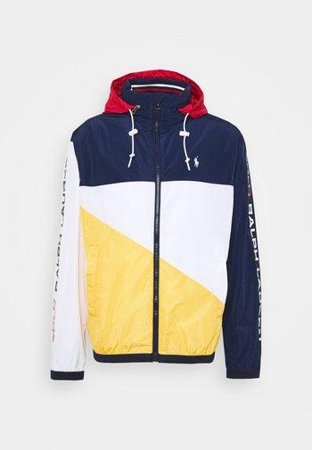 PACE FULL ZIP JACKET - Summer jacket - newport navy/yellow