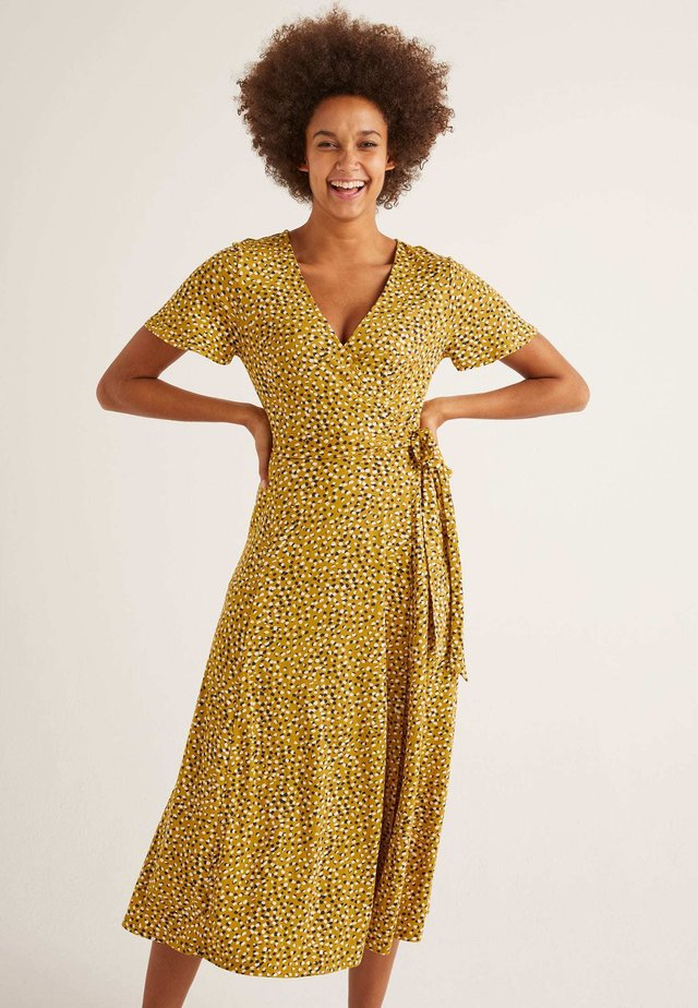 CASSIA  - Jersey dress - sun yellow