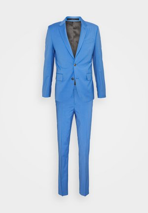 GENTS TAILORED FIT SUIT SET - Completo - light blue
