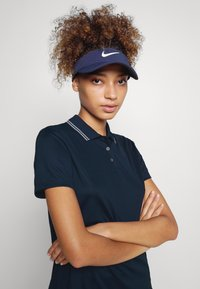 Nike Golf - DRY VICTORY - Sports shirt - college navy/white/white - 3