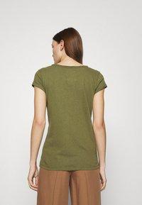 Mos Mosh - TROY TEE - Basic T-shirt - capulet olive - 2