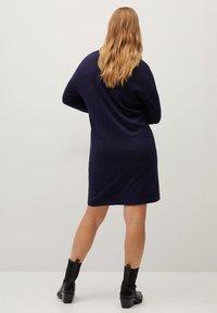 Violeta by Mango - AGORA - Jumper dress - dunkles marineblau - 2