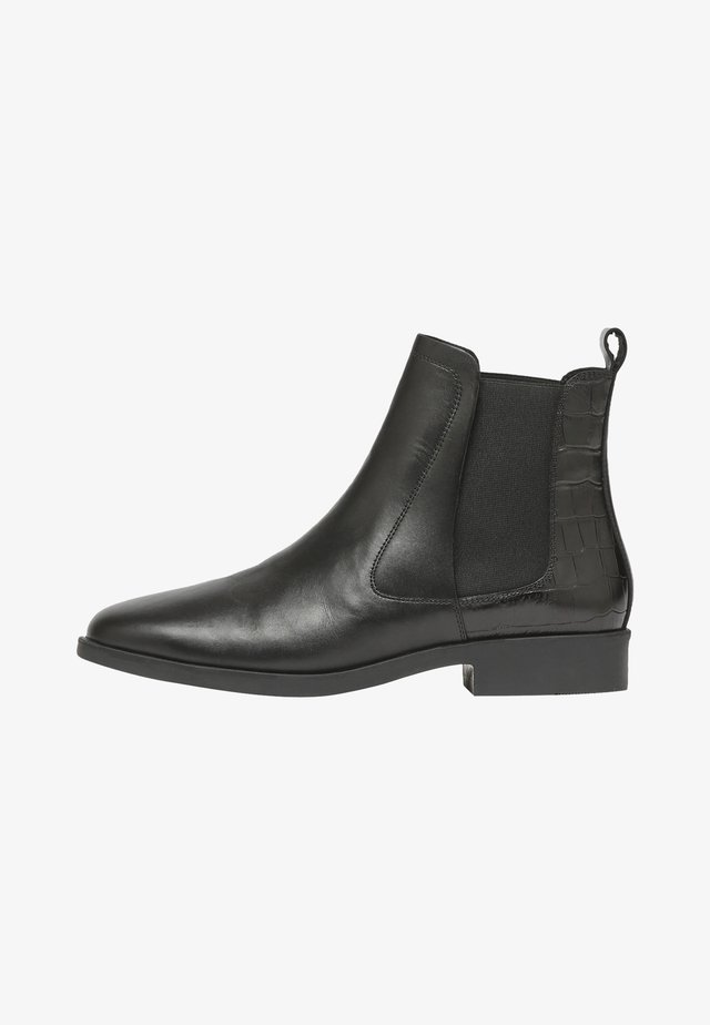 MIT FERSENDETAIL CHELMSFORD - Ankle boot - schwarz kroko