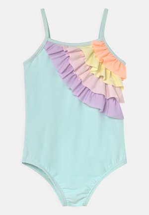 TODDLER GIRL RAINBOW - Swimsuit - glass of water