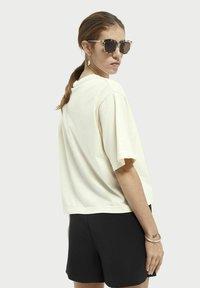 Scotch & Soda - Print T-shirt - ecru - 2
