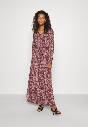 ONLVIRGINIA LIFE LONG DRESS - Maxi dress - burnt henna