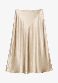 someday. - A-line skirt - beige - 4