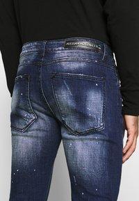 Alessandro Zavetti - MIRANO CARROT FIT - Slim fit jeans - blue - 4