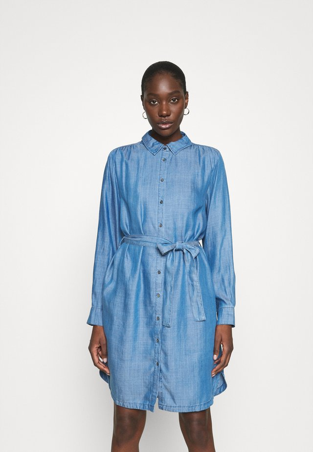 LILLA DRESS - Day dress - blue denim