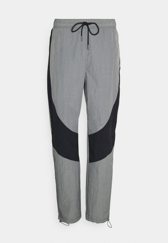 Teplákové kalhoty - smoke grey/black/(black)