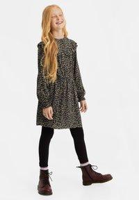 WE Fashion - MEISJES  - Leggings - black - 0