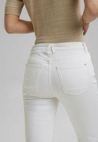 Esprit - Straight leg jeans - white - 6