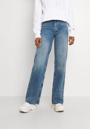 IDUN - Jeans Tapered Fit - dark blue