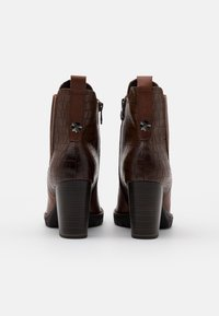 Marco Tozzi - BOOTS - High heeled ankle boots - cognac - 3