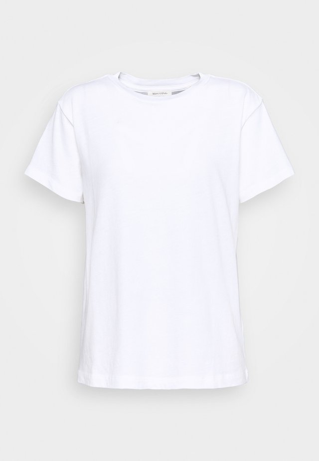 SHORT SLEEVE ROUND NECK - Basic T-shirt - white
