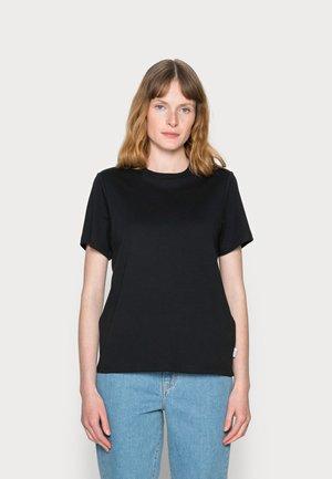 SHORT SLEEVE - Jednoduché triko - black