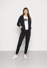 Nike Sportswear - HOODIE - Sweat à capuche zippé - black/white - 1