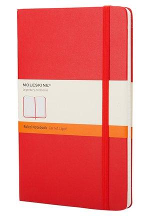 Notizbuch L liniert rot HCDIN A5 - Iné doplnky - scharlrot