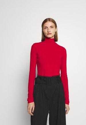 NINELLI - Top sdlouhým rukávem - dark red