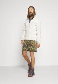 The North Face - MENS GLACIER 1/4 ZIP - Fleece jumper - vintage white - 1