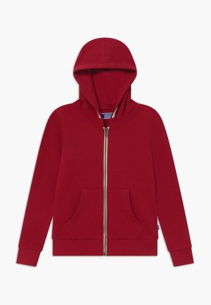 JJEHOLMEN ZIP HOOD - Zip-up hoodie - rio red