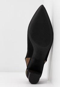 Dorothy Perkins - EMILY BLOCK HEEL SLINGBACK COURT - Classic heels - black - 6