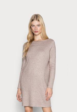 VMDION BOATNECK DRESS - Jumper dress - emperador melange