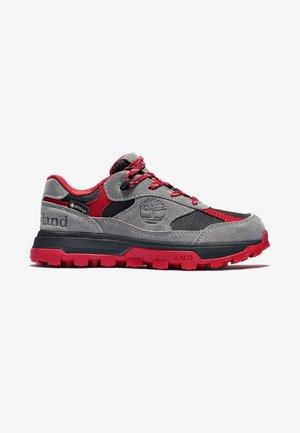 TRAIL TREKKER LOW GTX - Sports shoes - grey red